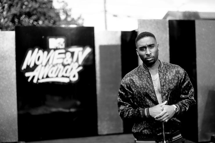 demetrius shipp jr at 2017 MTV Movie And TV Awards