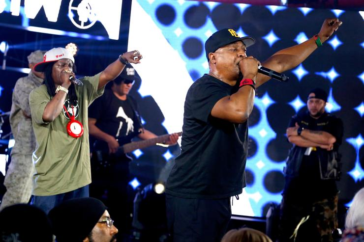 Public Enemy In Concert At The Samsung Studio At SXSW 2016