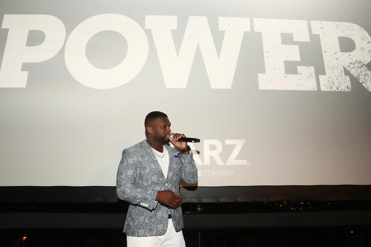 Curtis '50 Cent' Jackson attends STARZ 'Power