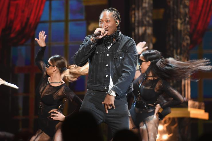 Future performs onstage at 2017 BET Awards