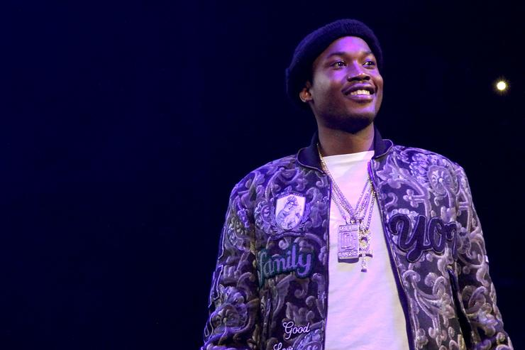 Meek Mill performs onstage during 105.1's Powerhouse 2015