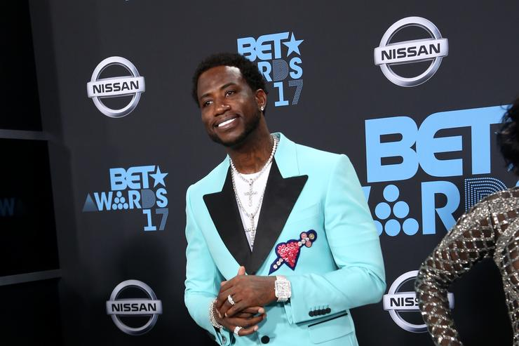 Gucci Mane at the 2017 BET Awards at Microsoft Square on June 25, 2017 in Los Angeles, California.