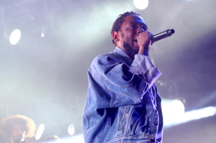 Kendrick Lamar performs onstage at night three of the STAPLES Center Concert, sponsored by Sprite, during the 2017 BET Experience at Staples Center on June 24, 2017 in Los Angeles, California.