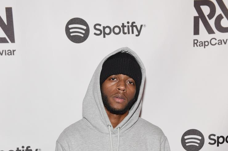 6lack at Spotify's RapCaviar Live at The Tabernacle on August 12, 2017 in Atlanta, Georgia.