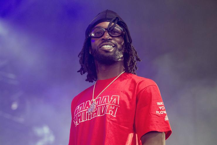 Jazz Cartier performs during Festival d'ete de Quebec on July 11, 2017 in Quebec City, Canada.