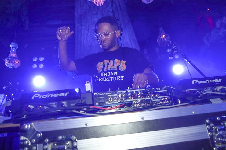 DJ Kaytranada performs at Soho Sounds: LA hosted by Soho House with Samsung, BMW of Beverly Hills & Bacardi on February 11, 2017 in Los Angeles, California.Â