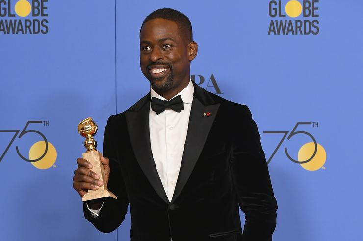 "Sterling K. Brown of ""This Is Us"" Secures Historic Win at Golden Globes"