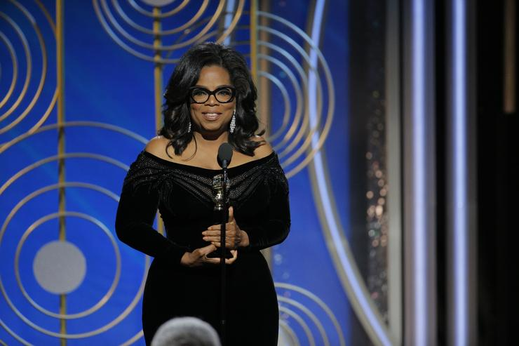 Gayle King: Oprah isn't running for president, except if she is