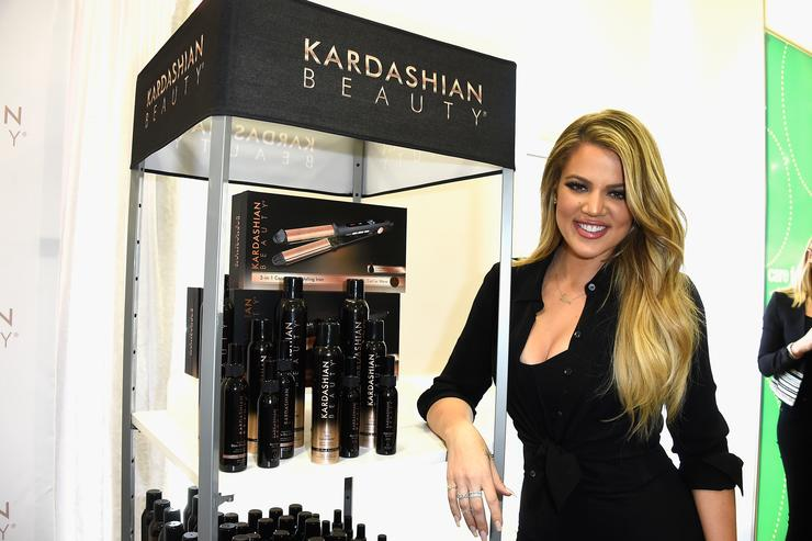 Khloe Kardashian appears At ULTA Beauty's West Hills Store To Promote Kardashian Beauty Hair Care And Styling Line at ULTA Beauty on April 2, 2015 in West Hills, California.