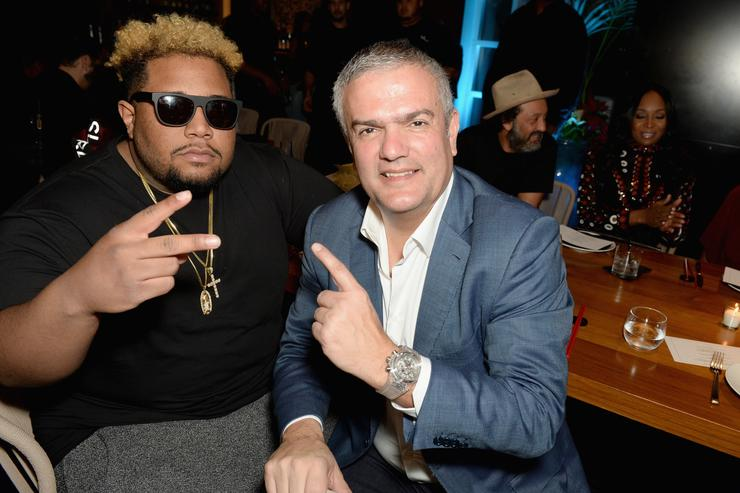 DJ Carnage and Ricardo Guadalupe attend DJ Khaled's birthday dinner hosted by Hublot at Komodo on December 4, 2016 in Miami, Florida.