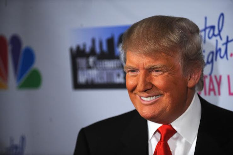 Donald Trump Orange