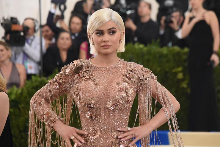 Kylie Jenner at the 'Rei Kawakubo/Comme des Garcons: Art Of The In-Between' Costume Institute Gala