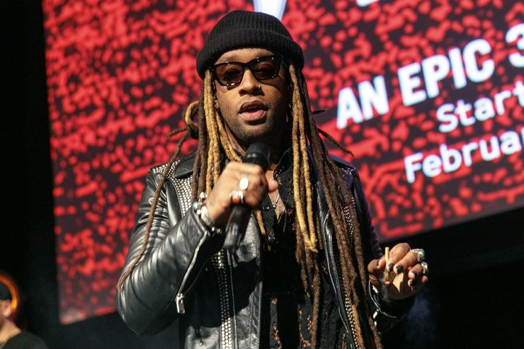 Ty Dolla $ign performs on stage at an event