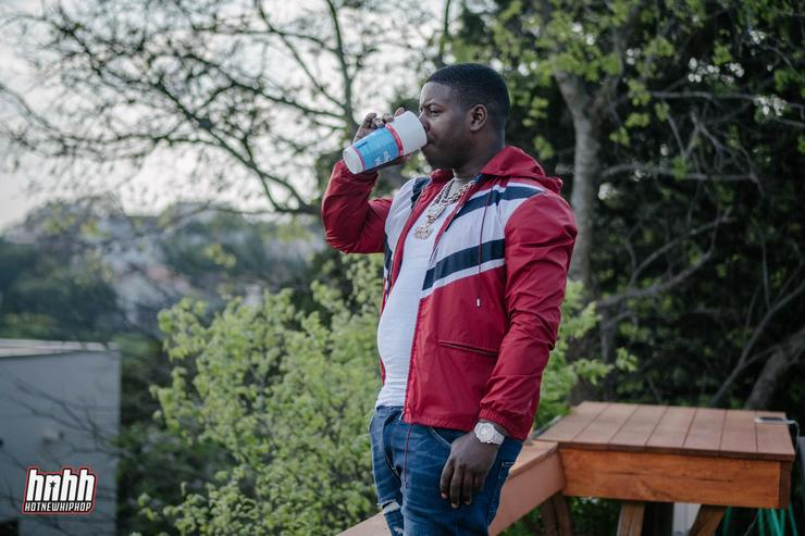 Blac Youngsta Sipping
