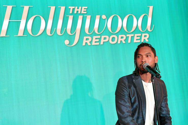 Miguel performs onstage during The Hollywood Reporter 6th Annual Nominees Night at CUT on February 5, 2018 in Beverly Hills, California