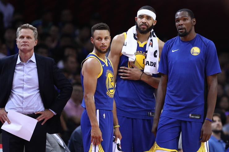 Javale McGee with Teammates