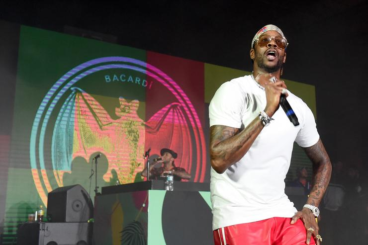 2 Chainz performs onstage during BACARDI, Swizz Beatz and The Dean Collection bring NO COMMISSION back to Miami to celebrate 'Island Might' at Soho Studios on December 9, 2017 in Miami, Florida.