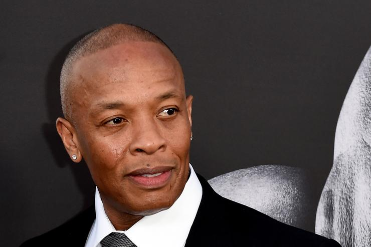 Dr. Dre arrives at the premiere screening of HBO's 'The Defiant Ones' at Paramount Studios on June 22, 2017 in Los Angeles, California