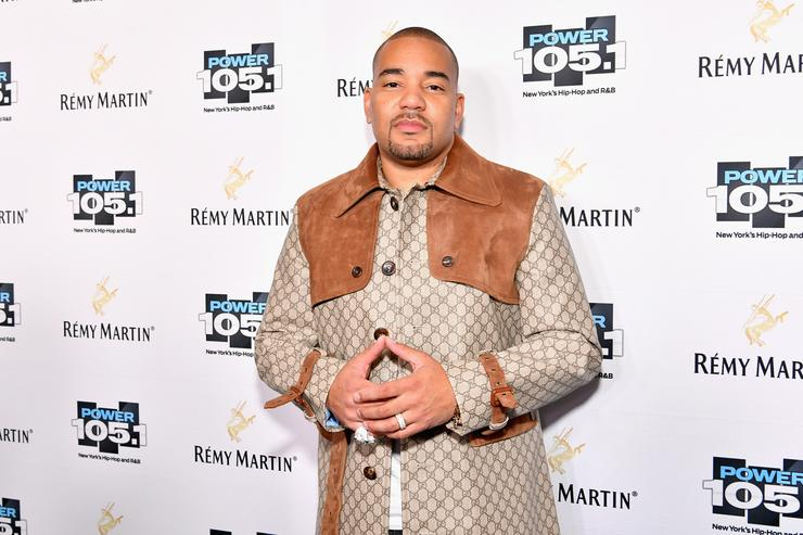DJ Envy attends Power 105.1's Powerhouse 2017 at the Barclays Center on October 26, 2017 in Brooklyn, New York City