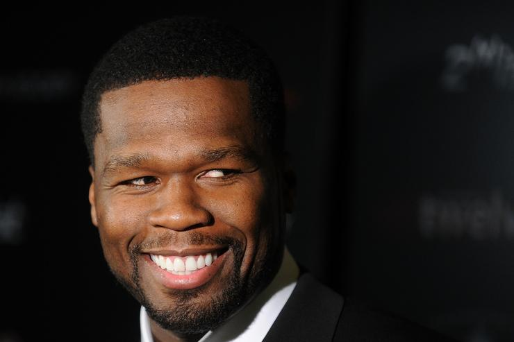 Curtis Jackson aka 50 Cent attends the Cinema Society & 2(x)ist screening of 'Twelve' at Landmark's Sunshine Cinema on July 28, 2010 in New York City.