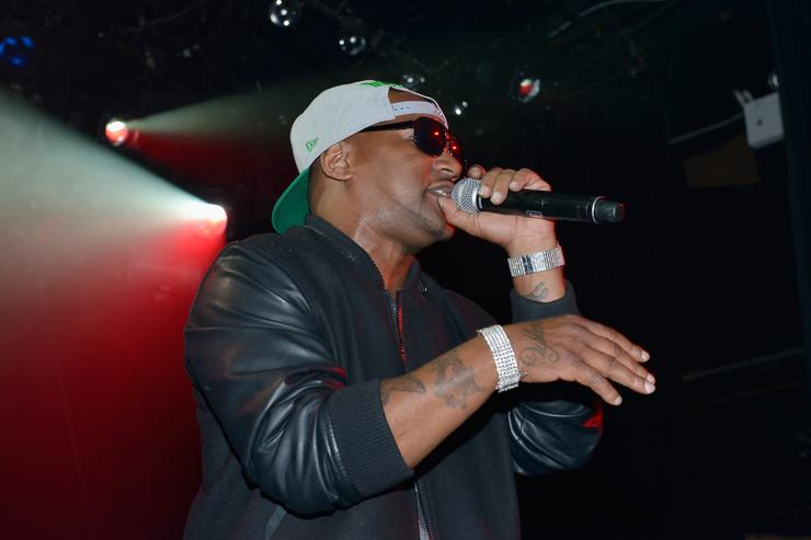 Cam'ron performs at the SoundCTRL 5th annual FlashFWD awards at Irving Plaza on May 14, 2014 in New York City