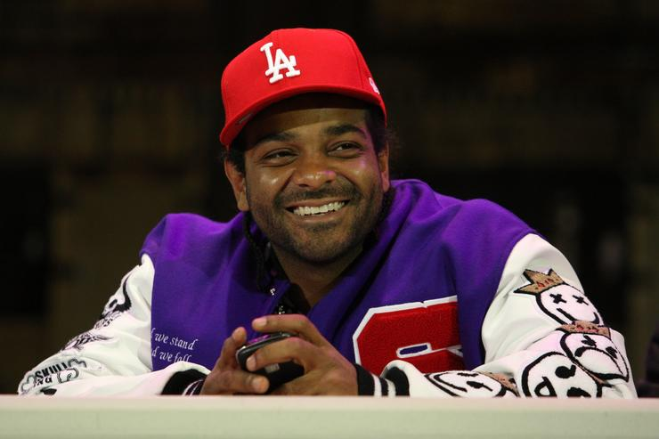 Jim Jones attends the Sony Entertainment press conference to announce the return of 'Hip Hop Monologues: Inside the Life & Mind of Jim Jones' at 37 Arts Theatre on March 23, 2009 in New York City
