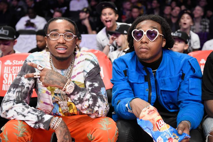 Nicki Minaj and Quavo Reunite After Falling Out Over