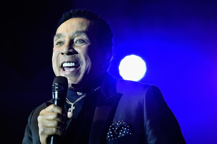 Smokey Robinson performs onstage at Celebrity Fight Night XXIV on March 10, 2018 in Phoenix, Arizona