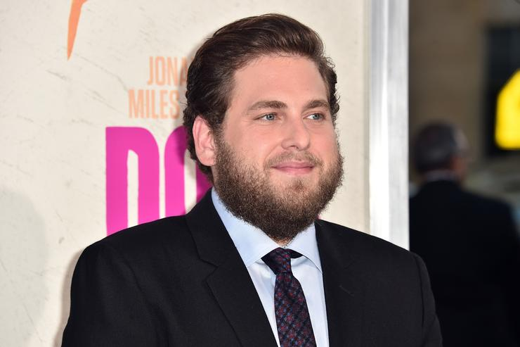 Actor Jonah Hill attends the premiere of Warner Bros. Pictures' 'War Dogs' at TCL Chinese Theatre on August 15, 2016 in Hollywood, California.