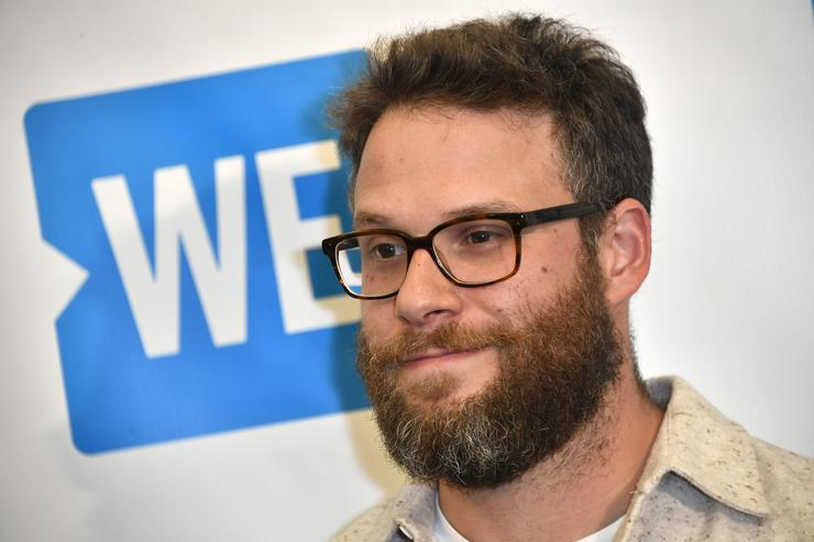 Seth Rogen, attends the Premiere of And Action!'s 'Dumpster Diving' at Cinemark Playa Vista on August 31, 2017 in Los Angeles, California
