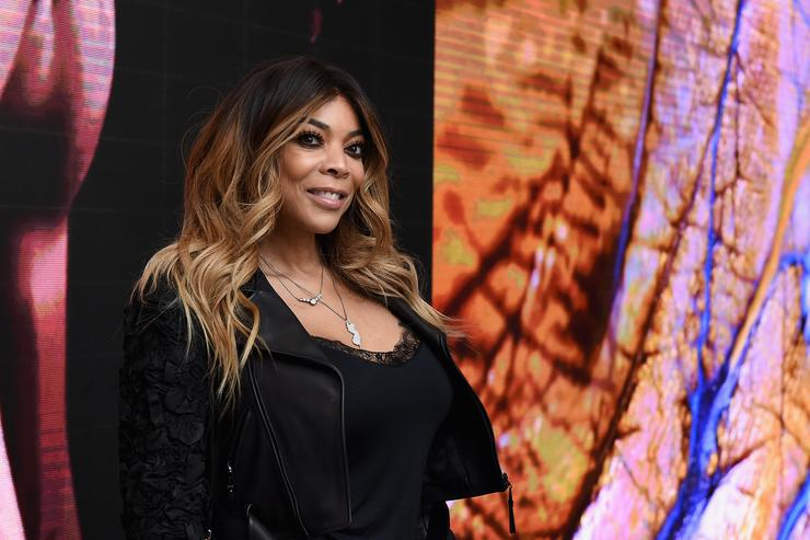 Wendy Williams attends the 50th anniversary celebration of Wilhelmina with co-host Patti Hansen on November 14, 2017 in New York City