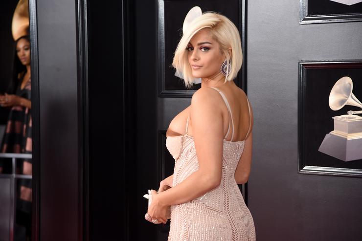 Recording artist Bebe Rexha attends the 60th Annual GRAMMY Awards at Madison Square Garden on January 28, 2018 in New York City.