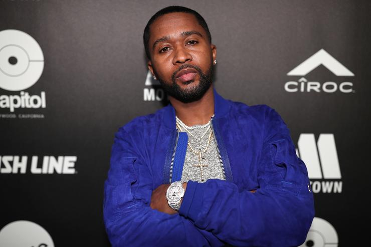 Music producer Zaytoven attends 'All-Star Weekend Kick-Off Party' at Capitol Records Tower on February 15, 2018 in Los Angeles, California.