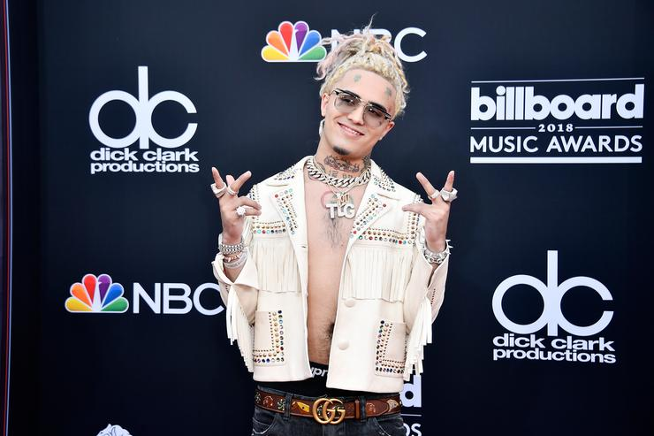 Lil Pump attends the 2018 Billboard Music Awards at MGM Grand Garden Arena on May 20, 2018 in Las Vegas, Nevada