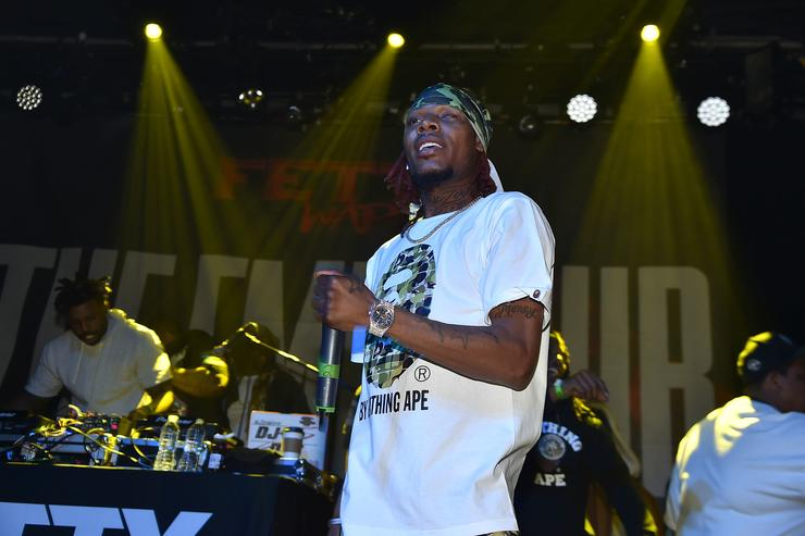 Rapper Fetty Wap performs at Irving Plaza on January 20, 2018 in New York City.