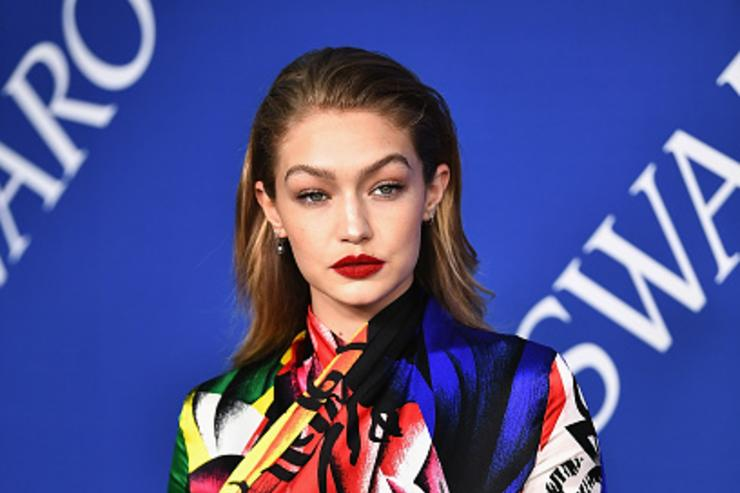 Gigi Hadid attends the 2018 CFDA Fashion Awards at Brooklyn Museum on June 4, 2018 in New York City.