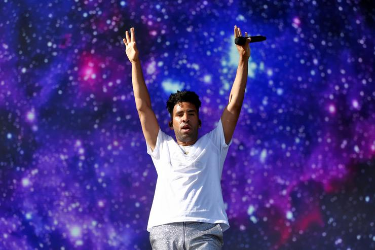 SuperDuperKyle performs onstage during the 2018 Coachella Valley Music And Arts Festival at the Empire Polo Field on April 20, 2018 in Indio, California