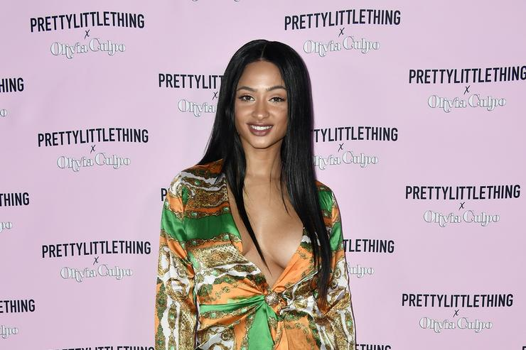 Tori Brixx attends PrettyLittleThing X Olivia Culpo Launch at Liaison Lounge on August 17, 2017 in Los Angeles, California