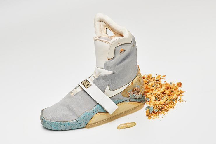 "Nike Air Mag Used In ""Back To The Future II"" Sells For ..."