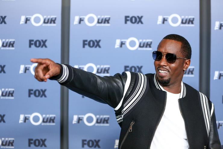 Sean 'Diddy' Combs attends the premiere of Fox's 'The Four: Battle For Stardom' Season 2 at CBS Studios - Radford on May 30, 2018 in Studio City, California