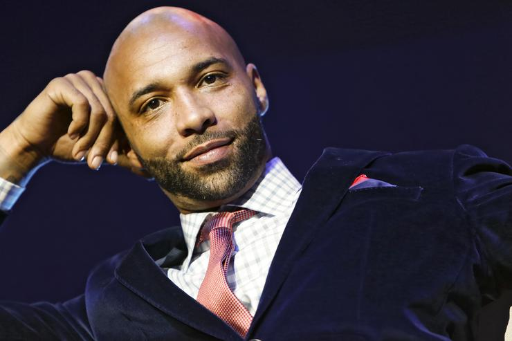 Joe Budden appears at the VH1 'Love & Hip Hop' Season 4 Premiere at Stage 48 on October 28, 2013 in New York City