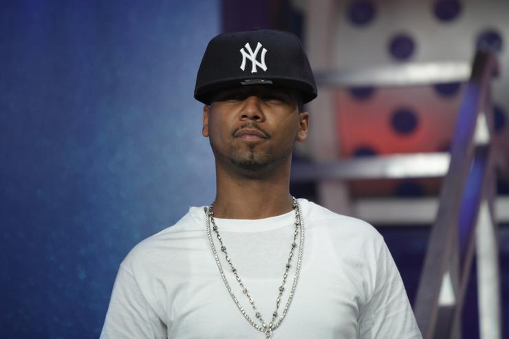 Juelz Santana visits BET's '106 & Park' at BET Studios on April 16, 2010 in New York City