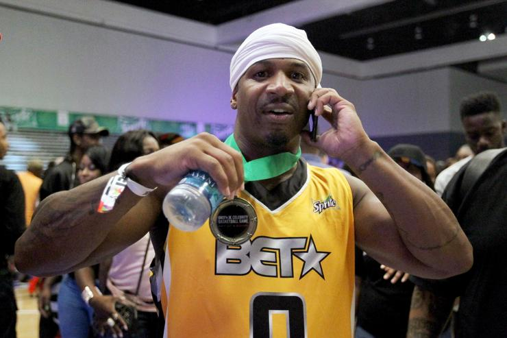 Stevie J at the Celebrity Basketball Game, presented by Sprite and State Farm, during the 2017 BET Experience, at Los Angeles Convention Center on June 24, 2017 in Los Angeles, California