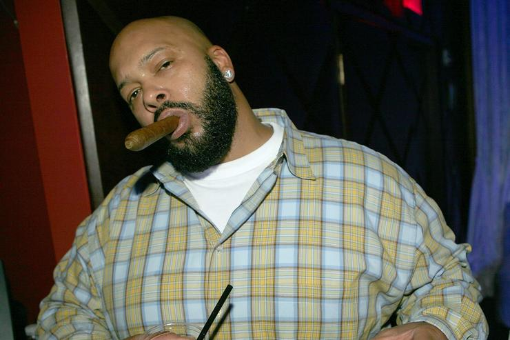Music producer Suge Knight attends the Belvedere Ultra Lounge Day 4 At Club OPM on February 17, 2007 in Las Vegas, Nevada.