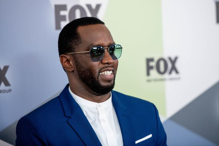 Sean 'Diddy' Combs attends the 2018 Fox Network Upfront at Wollman Rink, Central Park on May 14, 2018 in New York City