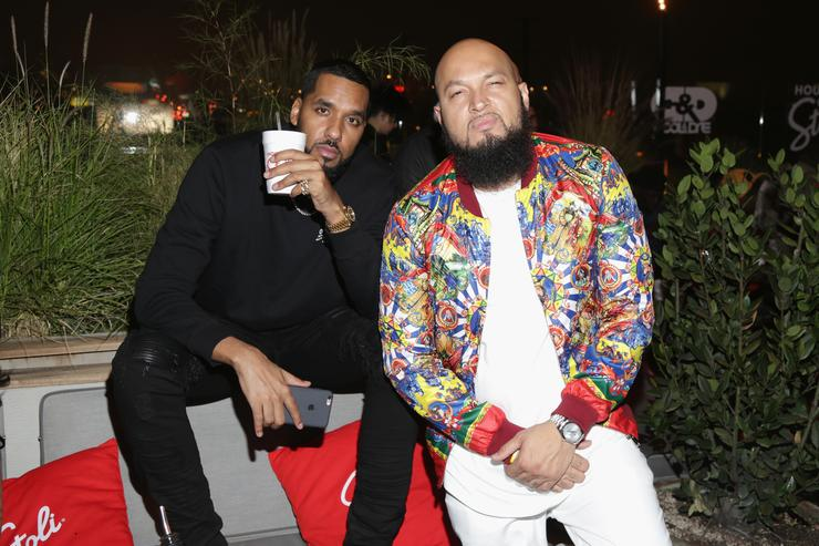 Andre 'Dre' Christopher Lyon and Marcello 'Cool' Antonio Valenzano of Cool and Dre attend the House of Stoli Event Hosted By Cool & Dre at E.P. & L.P. on February 8, 2017 in West Hollywood, California