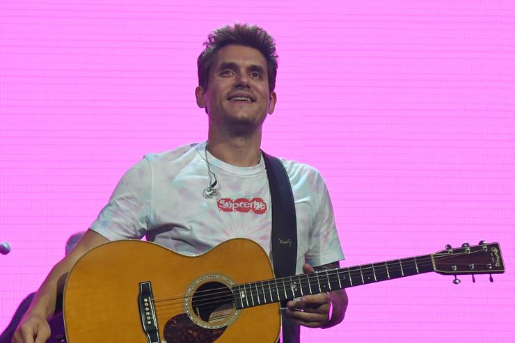John Mayer performs during a stop of The Search for Everything World Tour at Talking Stick Resort Arena on August 1, 2017 in Phoenix, Arizona