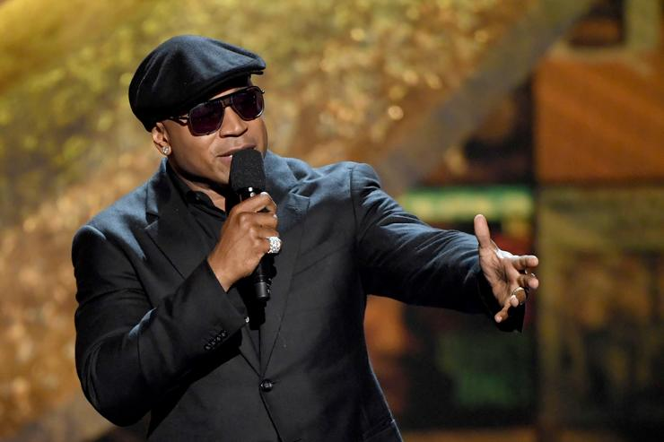 LL Cool J speaks onstage at Q85: A Musical Celebration for Quincy Jones at the Microsoft Theatre on September 25, 2018 in Los Angeles, California