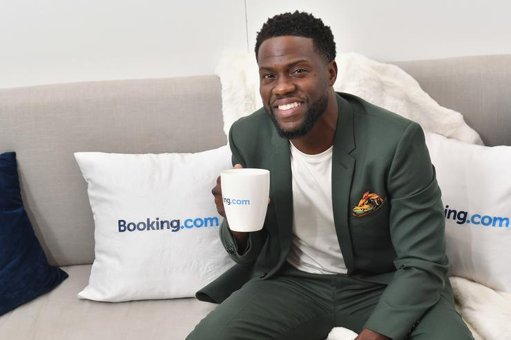 Kevin Hart attends Booking.com's 'Tiny House With Big Personality' Curated By Kevin Hart on September 27, 2018 in New York City