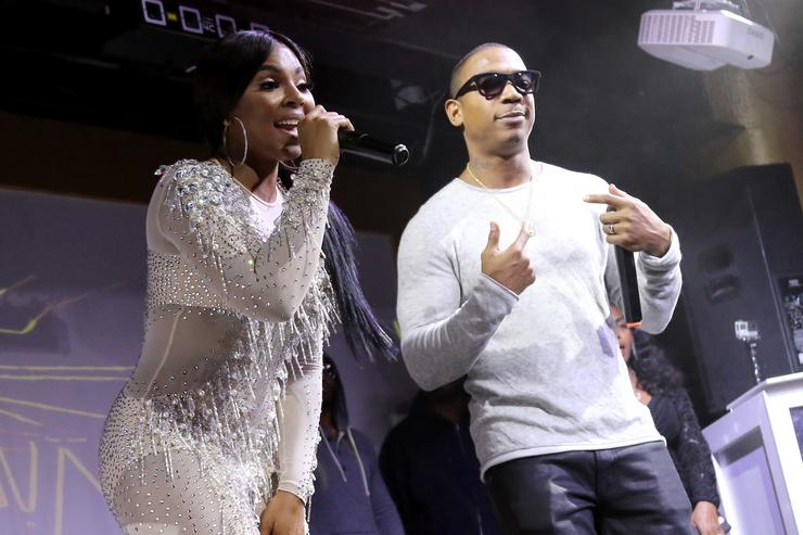 Ashanti and Ja Rule perform onstage at The Barstool Party 2017 on February 3, 2017 in Houston, Texas